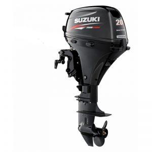 Suzuki DF20ARS - 4-х тактный лодочный мотор с дистанционным управлением