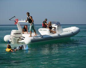 RIB, лодки с пластиковым днищем