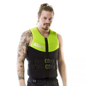 NEOPRENE VEST MEN Lime Green