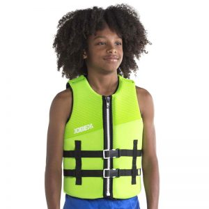 NEOPRENE VEST YOUTH Lime Green