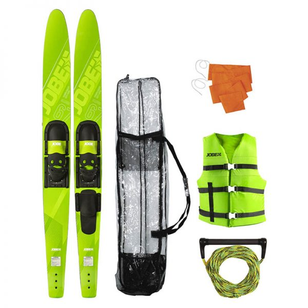 Водные лыжи Allegre Combo SKIS LIME GREEN Package