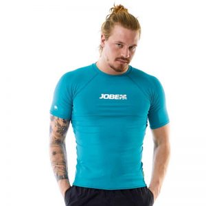 Футболка Rashguard Men Teal Blue