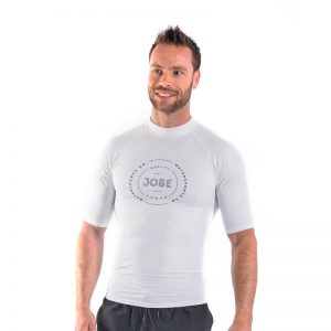 Футболка Rash Guard Shortsleeve Men White
